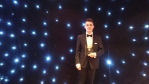 Andrew Doyle apprentice of the year award