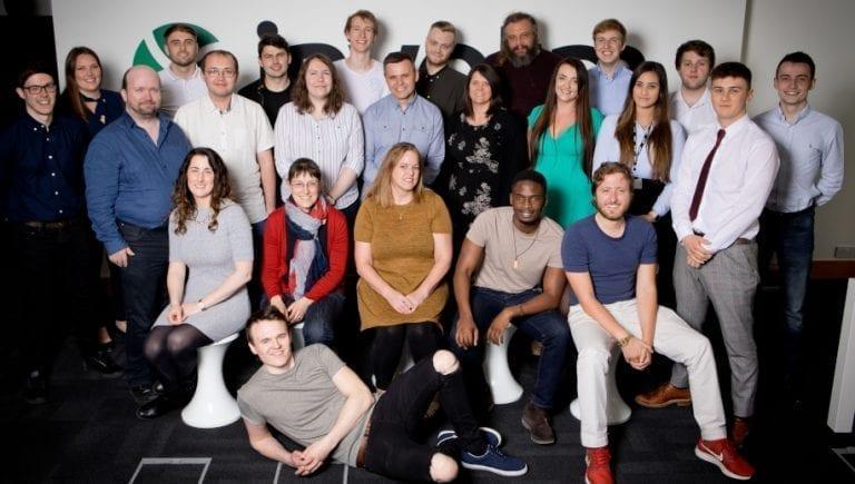 invotra team photograph