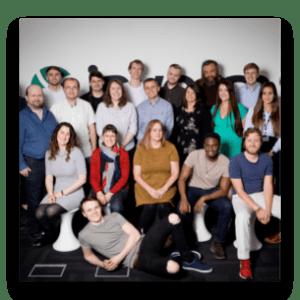 The Invotra team photo