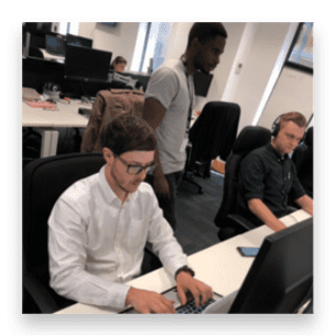 The Invotra team at work