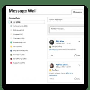 message wall membership