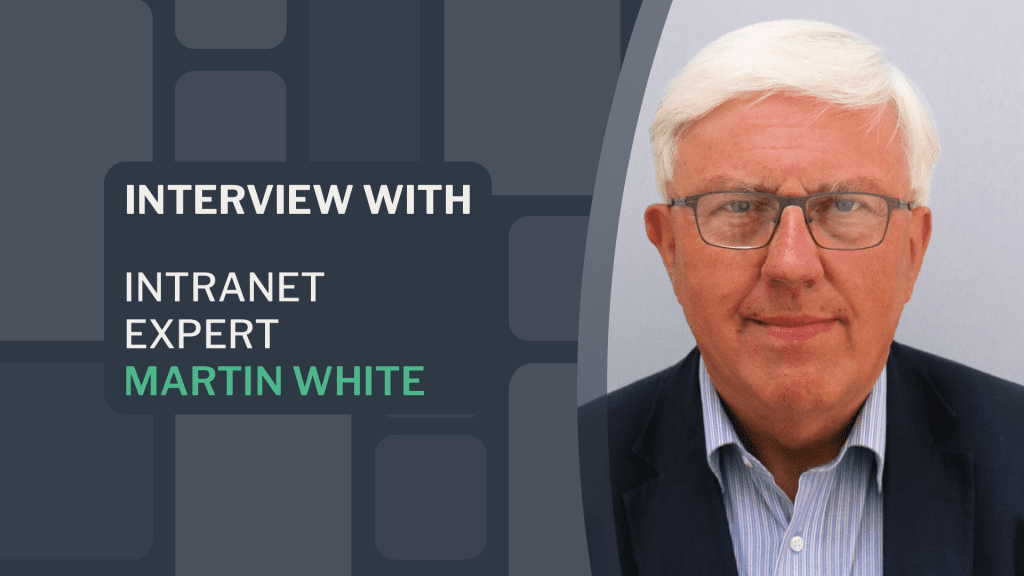 Martin White interview