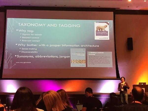 Helen Lippell's presentation