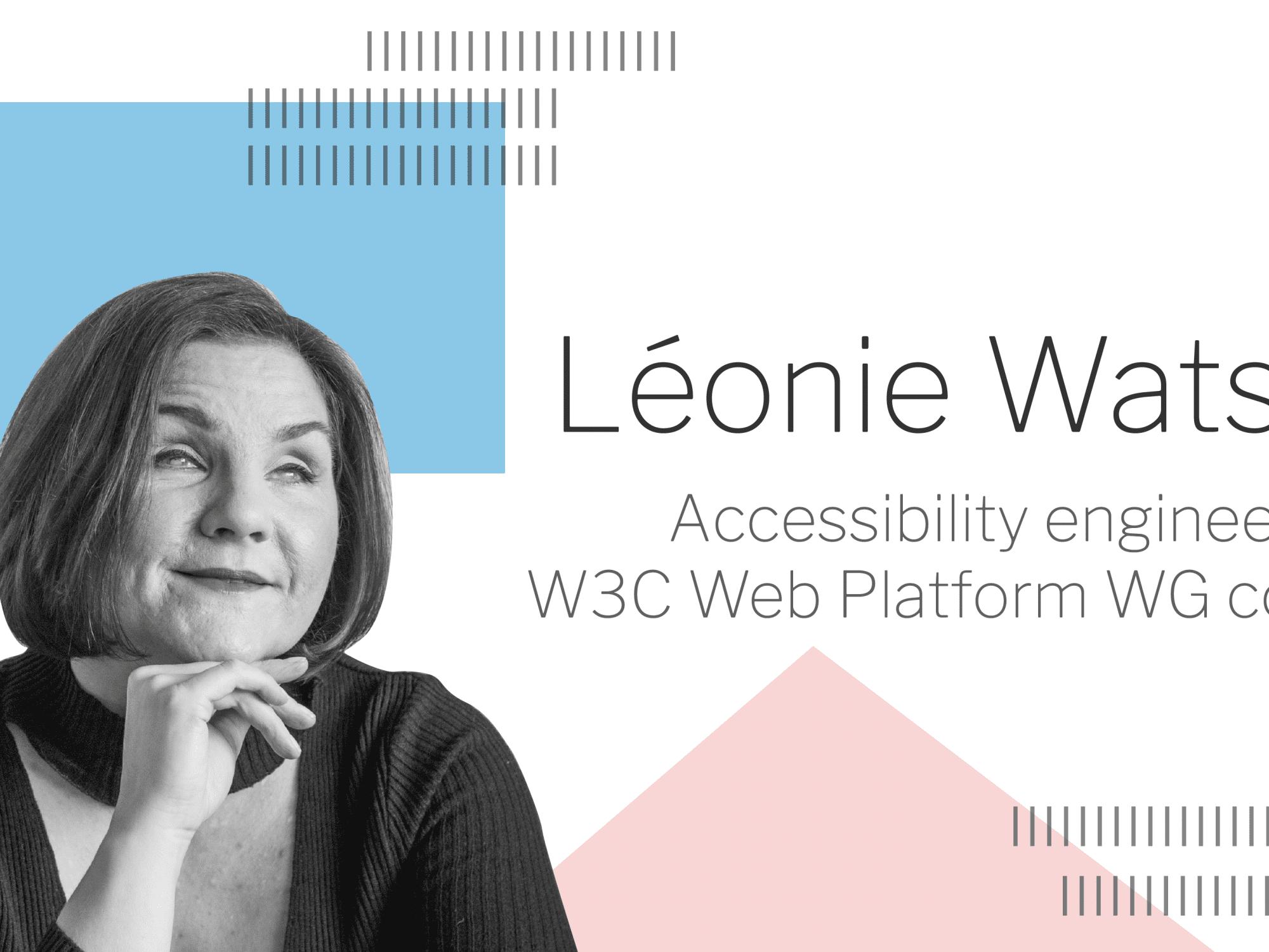 Léonie Watson ATAG 2.0 blog banner