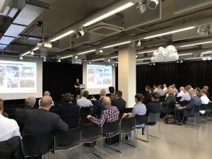 Evolution of cyber security event in The Core, Newcastle