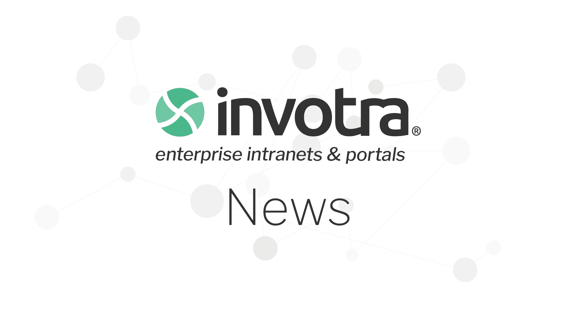Invotra News banner