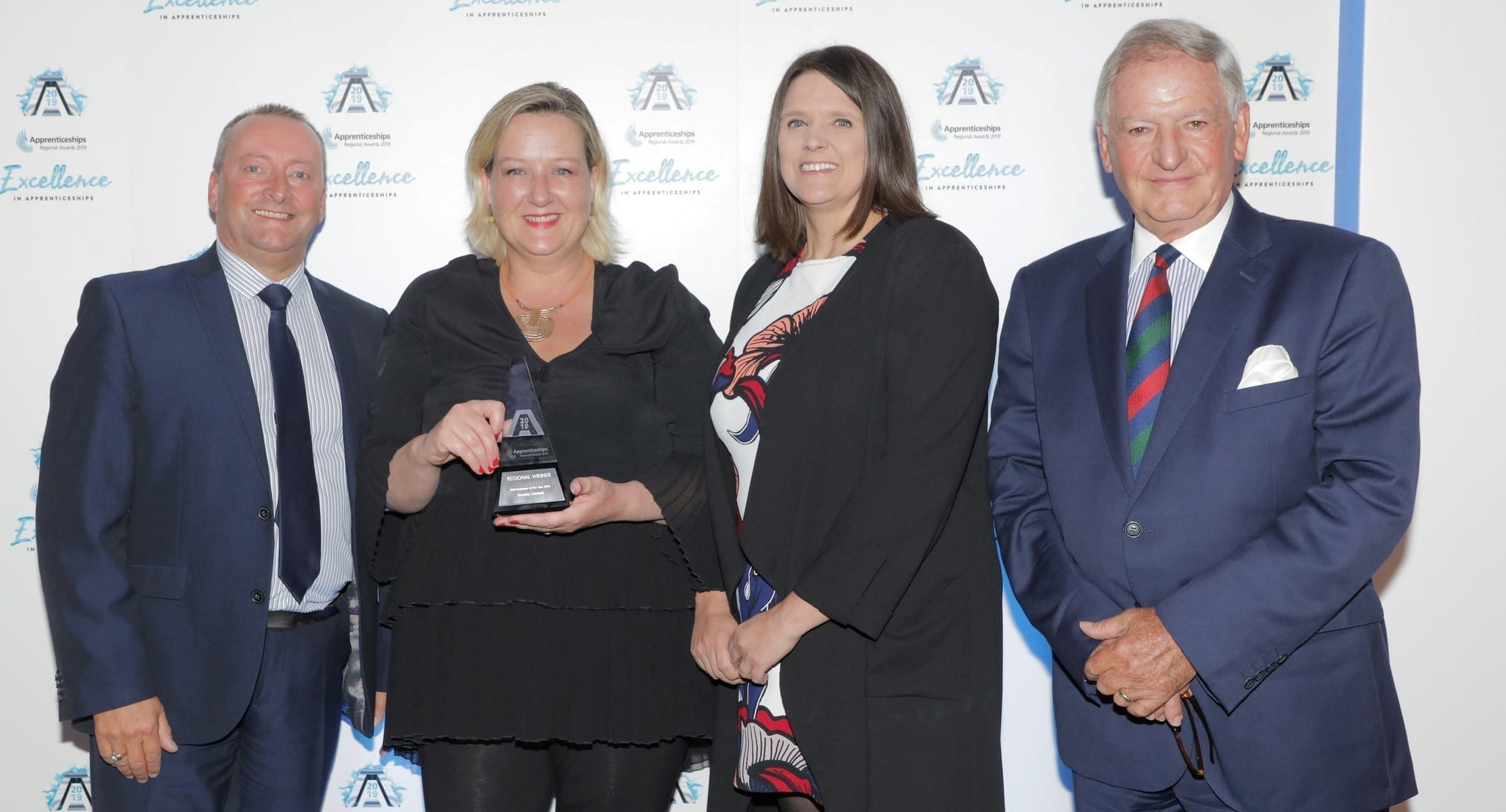 Steve Latus, Alison Galvin, Lisa Parker, Michael Grant at app awards