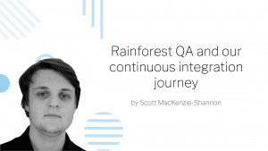 Continuous integration journey blog banner