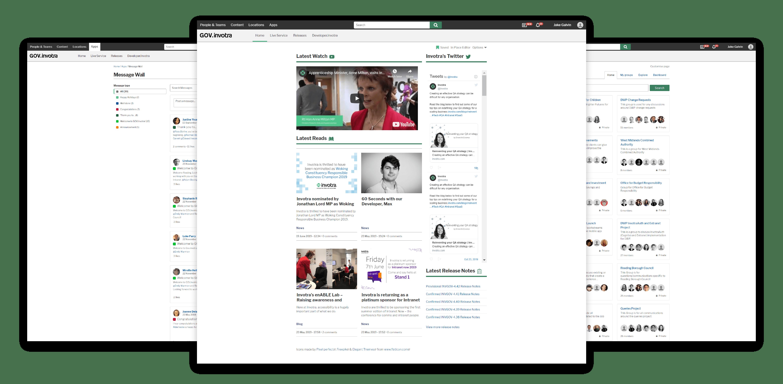 GOV.invotra screens