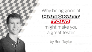 Banner for Ben's Mario Kart Tour blog
